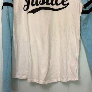 Justice Shirts & Tops - Justice baseball tee